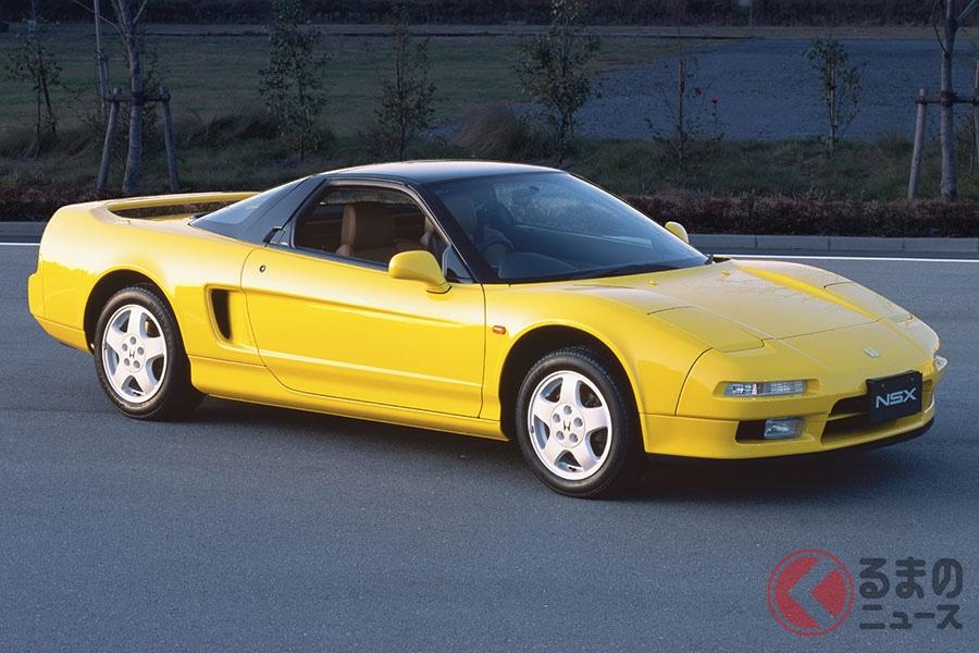 黄色のホンダ「NSX」出た! 2020年モデルに初代イメージの新色「インディイエロー・パールII」追加