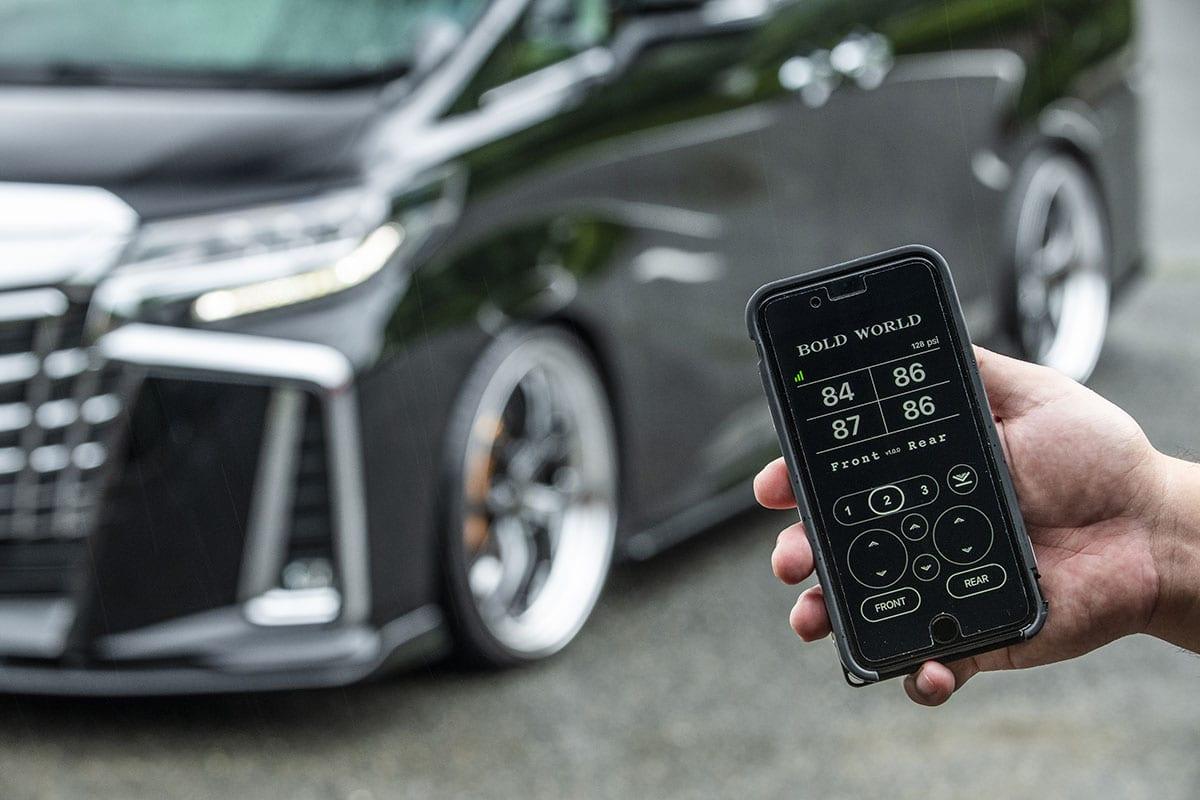 エアサスが今猛烈に進化中! 何がすごい!?  車高調整が自在なだけじゃない! メジャー4ブランド最新モデル連載02|ボルドワールド