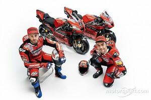 【MotoGP】ドゥカティ、2020年のカラーリングを発表。目標は不変、タイトルを目指して……