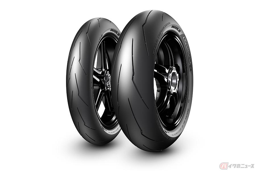 ドゥカティ「パニガーレV4」ピレリ製の高性能タイヤ「DIABLO SUPERCORSA SP」を純正採用