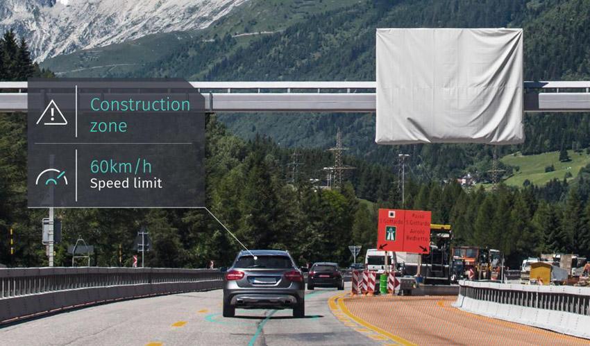 HERE 3次元道路モデル活用の「HERE Lanes」発表