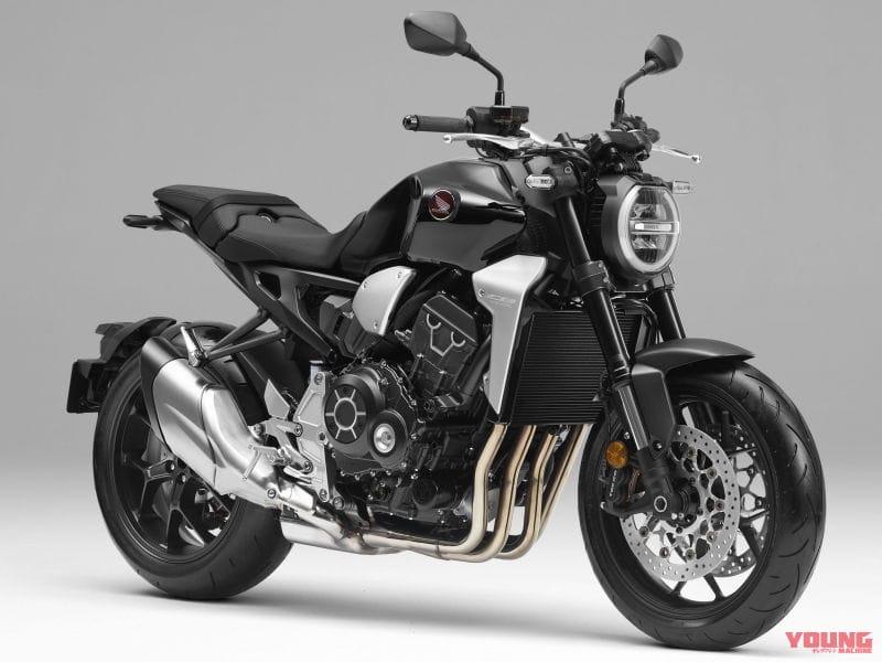ホンダCB1000Rが車体色変更[2020モデル]スイングアームやヘッドライトリムをブラックアウト