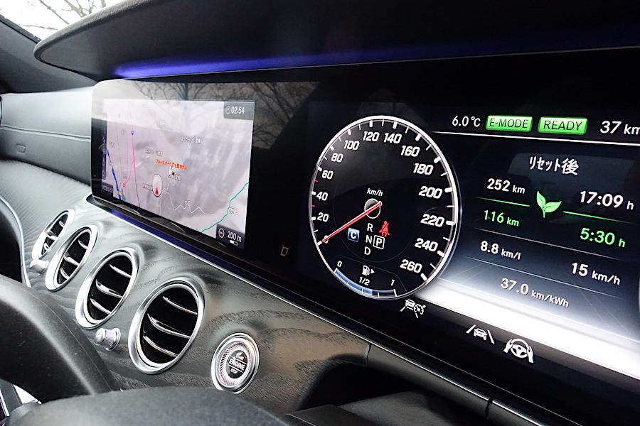 メルセデス・ベンツ E350de 日本初のディーゼルPHEVの凄い実力(FR/9速AT)