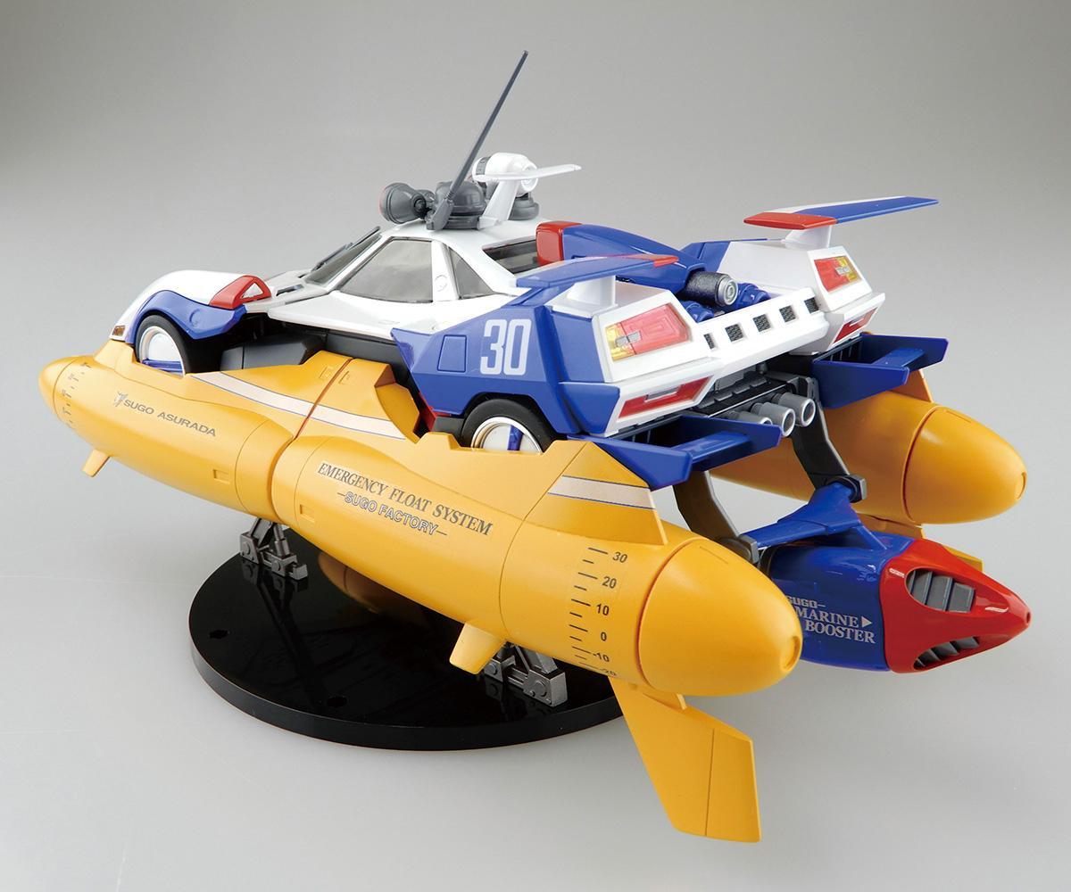90年代に人気だったアニメ「サイバーフォーミュラ」に登場するアスラーダ・マリンモードがアオシマから発売