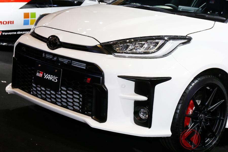 トヨタ新型「GRヤリス」2000台予約で好調! 約8割が456万円の上級モデルを選択