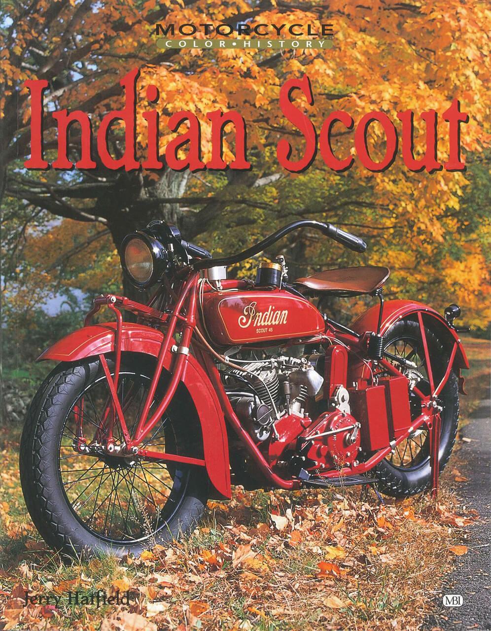 これ以上ない情報量! インディアン「スカウト」のすべてを網羅したファン、オーナー必携の一冊【新書紹介】