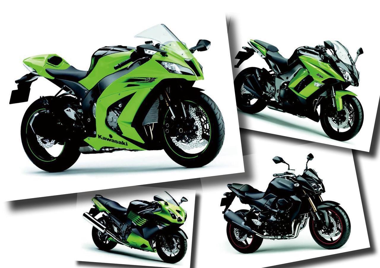「Ninja ZX-10R」や「Ninja1000」、「Z750R」などカワサキの人気モデルが続々登場!【日本バイク100年史 Vol.110】(2010-2011年)<Webアルバム>
