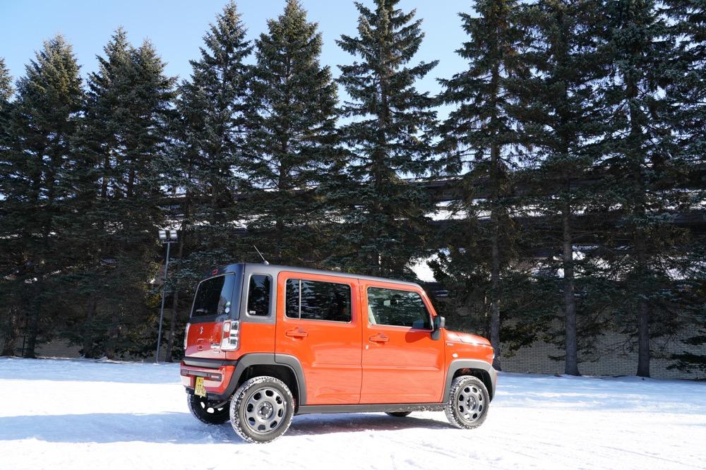 【世界最速!?】新型ハスラー雪道インプレッション!