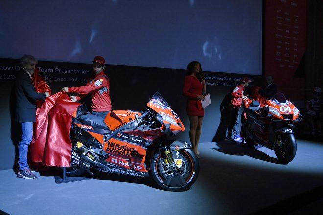 MotoGP:ドゥカティファクトリーが2020年の参戦体制を発表。デスモセディチGP 20をお披露目