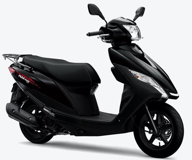 ロング&ワイドなシートでタンデム走行も快適!使い勝手を重視したスズキの125ccスクーター「Address 125」