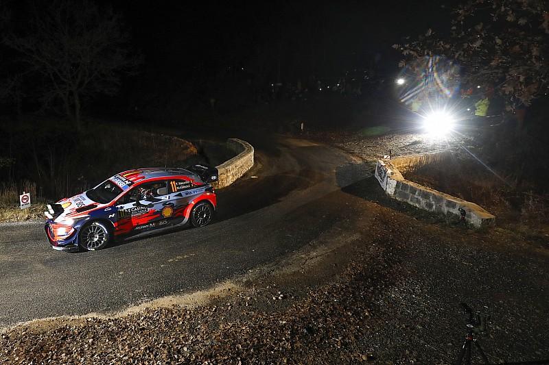 【WRC】ラリー・モンテカルロ初日:ヒュンダイのヌービル首位発進。トヨタのオジェが2番手で続く