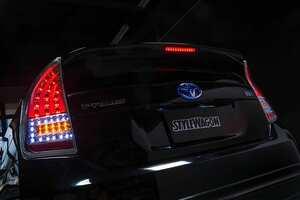 待ってましたよ30系プリウスにシーケンシャルウインカー!! ライトバーが見せる先進的なデザインも魅力的!|ヒカリモノ カスタム