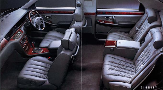 かつて三菱のフラグシップモデルとして登場したディグニティは、今となっては超希少な絶滅危惧車だ