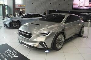 スバルの最新コンセプトカーに、アイサイトの進化と未来を感じる