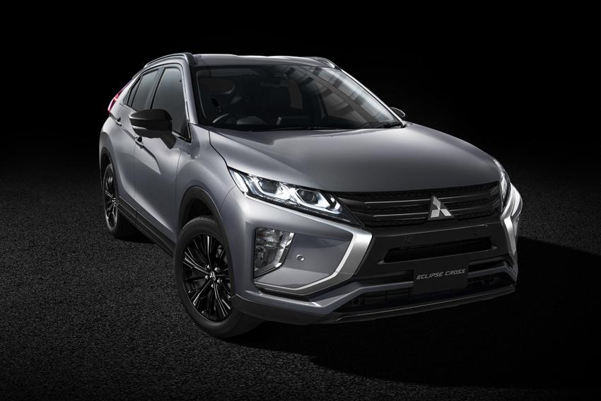 三菱「ミラージュ」「エクリプス クロス」「アウトランダー」にブラックエディション特別仕様車登場