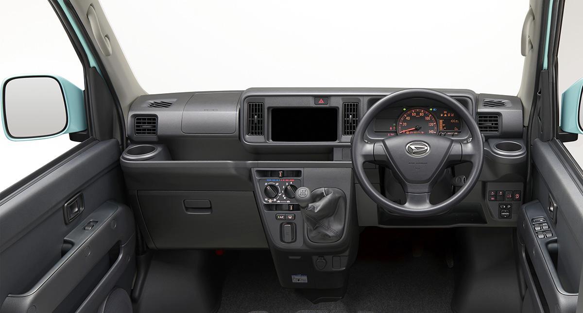 ダイハツ・ハイゼットカーゴが一部改良! 「スマートアシストIII」をMT車にも標準化