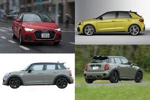 【比較試乗】「アウディA1スポーツバック vs ミニ5ドア」現代の「小さな高級車」はどれに乗る?キャラクター編