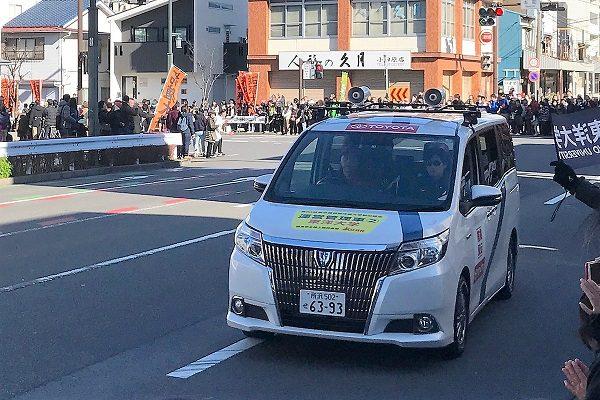 【箱根駅伝】来年はなんとセンチュリーGRMN登場!!! ランナー支えた平成の伴走車