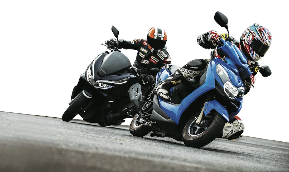 """125ccスクーターの主要どころを""""データーロガー""""で徹底比較!"""