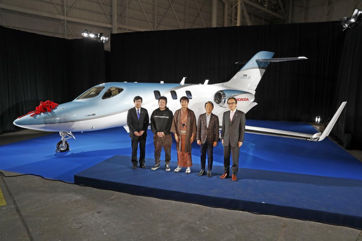 ついにホンダジェットが日本で納機! 初号機を手にしたオーナーの姿とは?