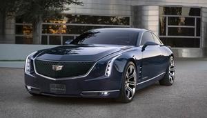 GM、新コンセプト・カー「キャデラック エルミラージ」を発表