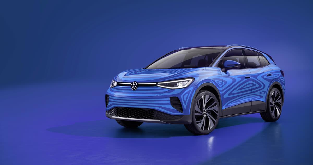 VWのコンパクト電動SUV「ID.4」プロトタイプを発表!  最大航続距離500kmを実現に