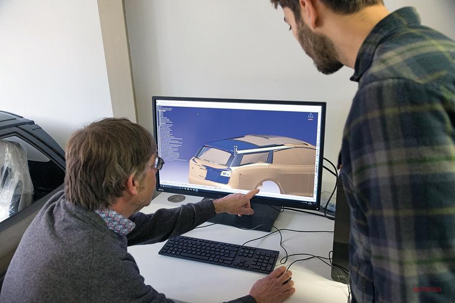 テスラ・モデルS シューティング・ブレーク製作の背景は クエスト社訪問