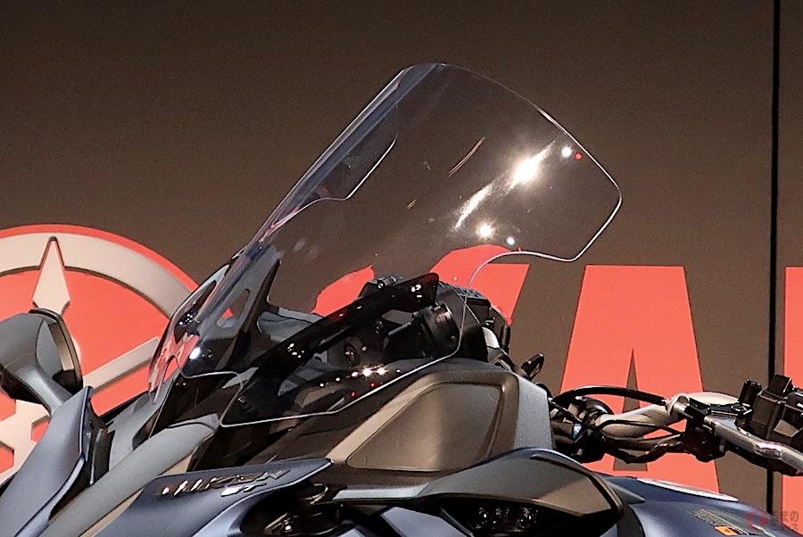 新たな装備でツーリングの快適性を重視した「NIKEN GT」を受注生産にて発売