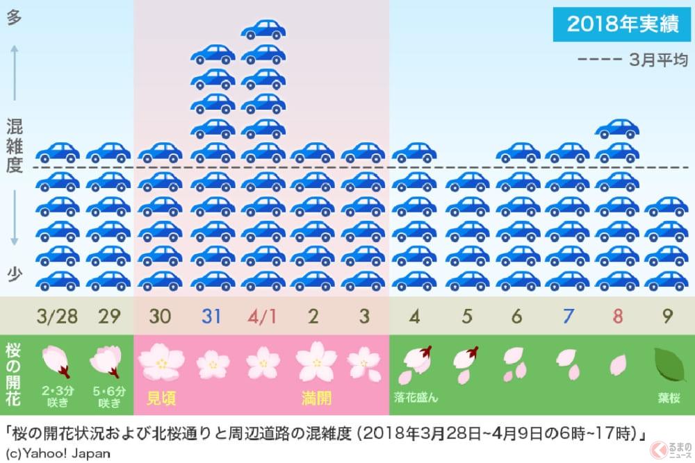 もうすぐ桜開花! 桜の名所で混雑を避けるはどうするべきか?