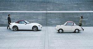 マツダ、「オートモビルカウンシル2020」に100周年記念車を展示 「R360クーペ」なども