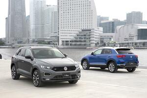 ボディサイズはゴルフ並み! VWの新型SUV「T-ROC」が日本市場で発売