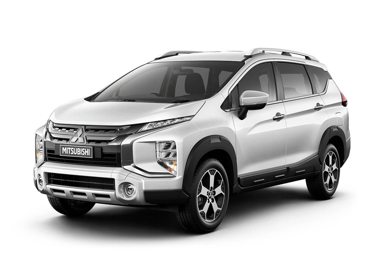 SUVとミニバンのクロスオーバー、「三菱エクスパンダ―・クロス」がインドネシアでデビュー!