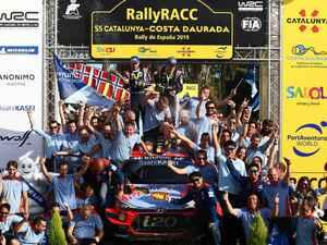 WRC最終戦ラリーオーストラリアは森林火災で開催中止。メイクスタイトルはヒュンダイに【モータースポーツ】