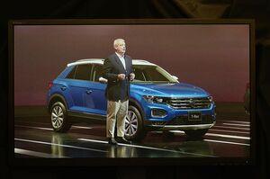 VWジャパン、新型SUV「Tロック」発売 全車ディーゼル搭載 384万円から