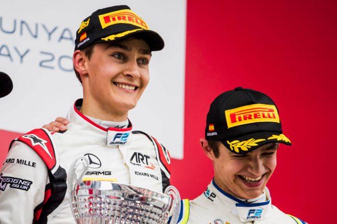 FIA F2:チャンピオン争いはルーキー同士の戦いに。牧野と福住は苦戦/第8戦後ポイントランキング