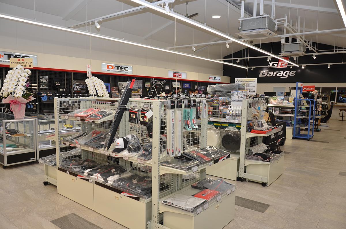 GR Garage MASTER ONE東名川崎が店舗リニューアルしてグランドオープン!