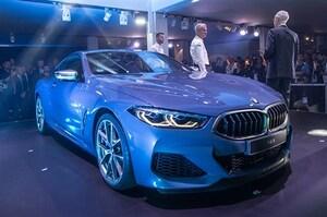 BMW、新型8シリーズクーペ初披露。ル・マンからの撮り降ろしで細部も紹介