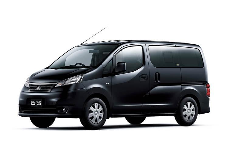 三菱自動車、『デリカD:3』の安全性を向上など一部改良して発売