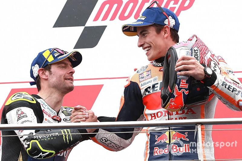 "【MotoGP】クラッチローの""セカンドオピニオン""が重要? マルケス兄、開発の助けになると期待"