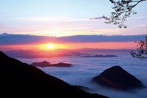 酒呑童子伝説の山から由良川流域に湧く雲海を一望にする(京都府 大江山)【雲海ドライブ&スポット Spot 62】