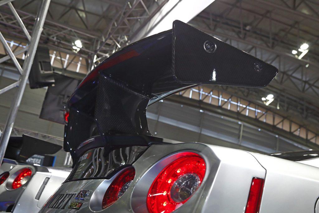 「スモーキー永田渾身のR35GT-R改2020年スペックが完成!」プレミアム感を高めるエアロに注目【東京オートサロン2020】
