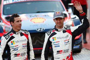 WRC:豊田チーム総代表、モンテカルロ連勝止まったオジエに「地元勝利をヤリスで止めてしまったこと、申し訳ない気持ち」