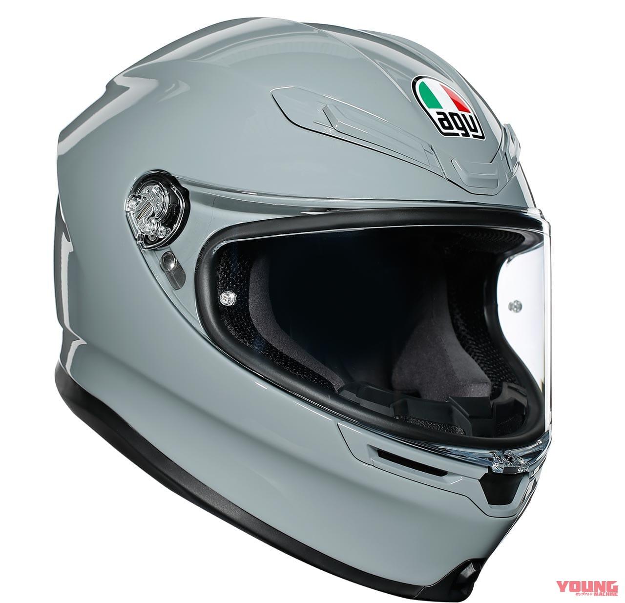 伊AGVのプレミアムスポーツヘルメット「K6」が2/1に発売