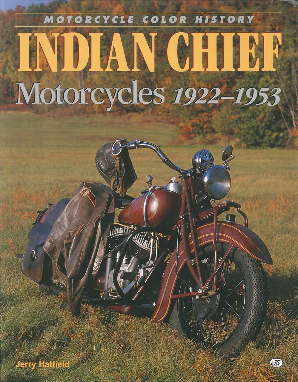 1922年から1953年まで製造されたインディアン社「チーフ」の貴重な写真資料集【新書紹介】