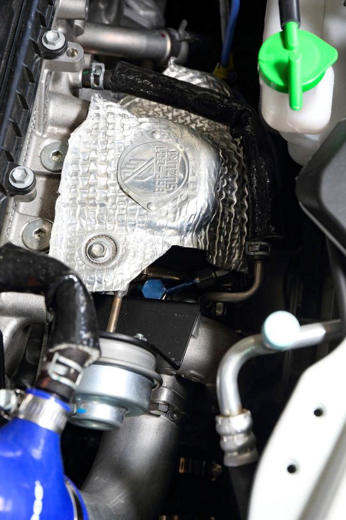 「このZC33Sスイスポ、速すぎる!」GTIII-SSタービン仕様で鈴鹿2分24秒23をマーク!