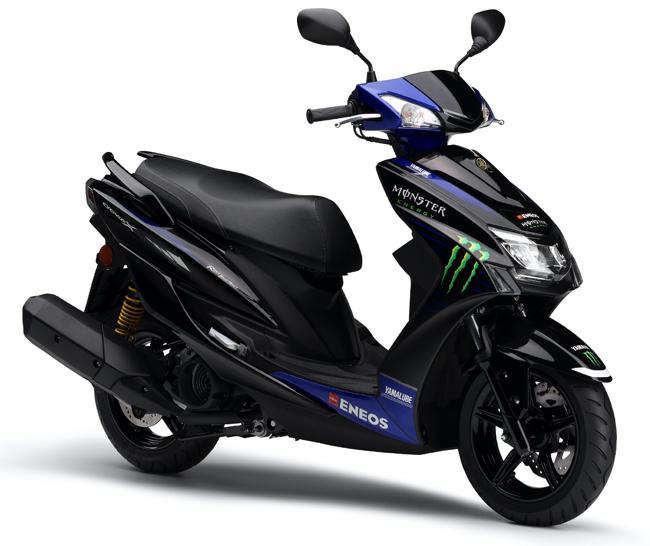 伸びやかな加速フィールを楽しめるヤマハの125ccスクーター「CYGNUS-X」