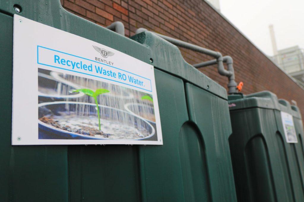 ベントレーが新たな水リサイクルシステムの試験運用に成功、本格稼働へ