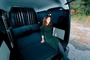 使いやすさと極上の寝心地。あったか便利な車中泊アイテム|エブリイ カスタム