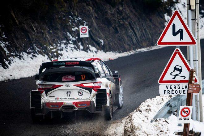 WRC:トヨタ、モンテカルロ最終日に失速「今朝はドライバーたちが完璧なフィーリングを感じられなかった」