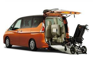 日産自動車とオーテックジャパンが「第21回 西日本国際福祉機器展」で4台の福祉車両を披露